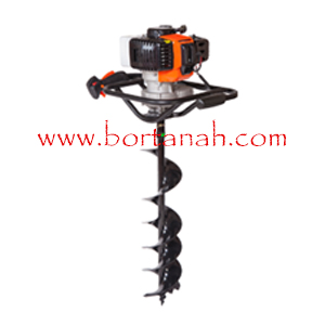 mesin bor tanah biopori - earth auger 200 mm